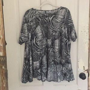 Dress to Kill by Jane Mohr OSFA top